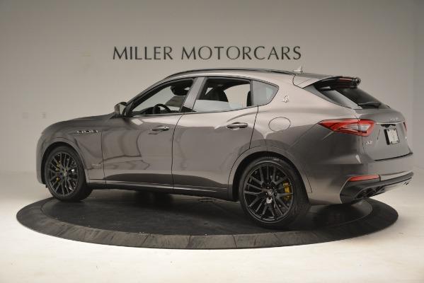 New 2019 Maserati Levante SQ4 GranSport Nerissimo for sale Sold at Alfa Romeo of Westport in Westport CT 06880 4