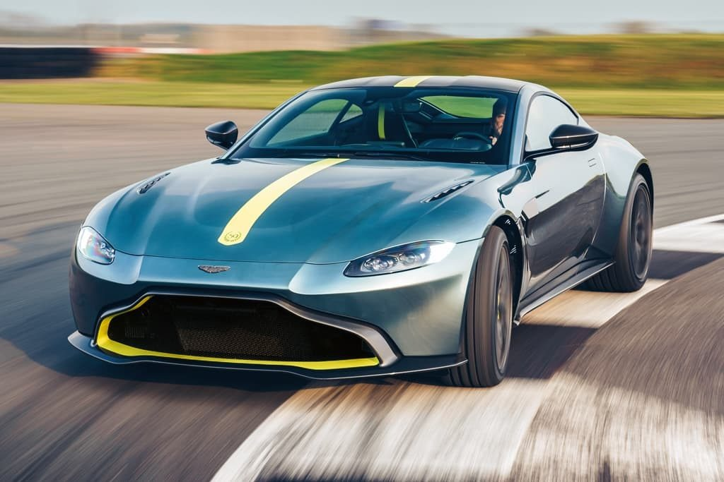 New 2020 Aston Martin Vantage AMR Coupe for sale Sold at Alfa Romeo of Westport in Westport CT 06880 1
