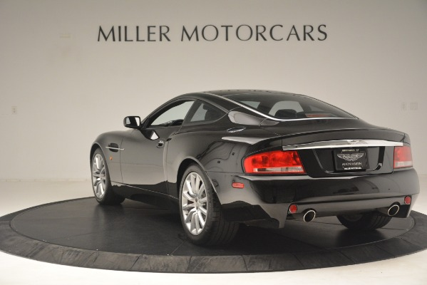Used 2004 Aston Martin V12 Vanquish for sale Sold at Alfa Romeo of Westport in Westport CT 06880 3