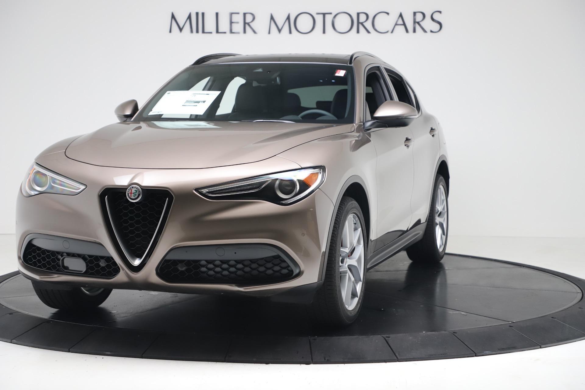 New 2019 Alfa Romeo Stelvio Ti Sport Q4 for sale $51,690 at Alfa Romeo of Westport in Westport CT 06880 1