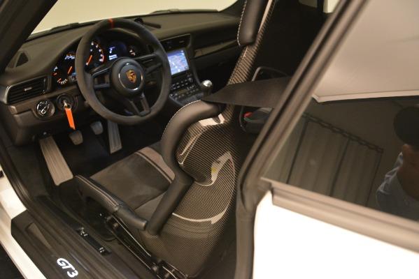 Used 2018 Porsche 911 GT3 for sale Sold at Alfa Romeo of Westport in Westport CT 06880 12
