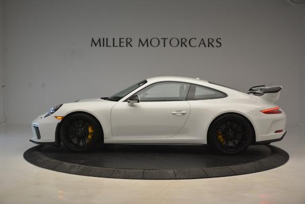 Used 2018 Porsche 911 GT3 for sale Sold at Alfa Romeo of Westport in Westport CT 06880 2