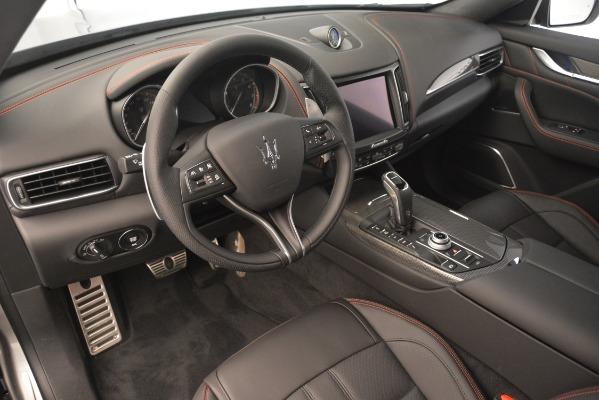 New 2019 Maserati Levante SQ4 GranSport Nerissimo for sale Sold at Alfa Romeo of Westport in Westport CT 06880 13