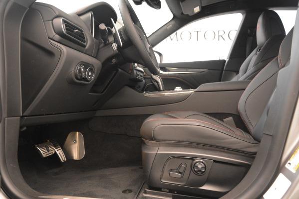 New 2019 Maserati Levante SQ4 GranSport Nerissimo for sale Sold at Alfa Romeo of Westport in Westport CT 06880 14