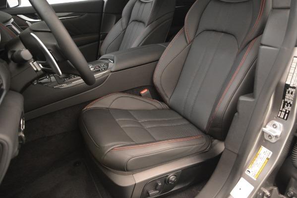 New 2019 Maserati Levante SQ4 GranSport Nerissimo for sale Sold at Alfa Romeo of Westport in Westport CT 06880 15