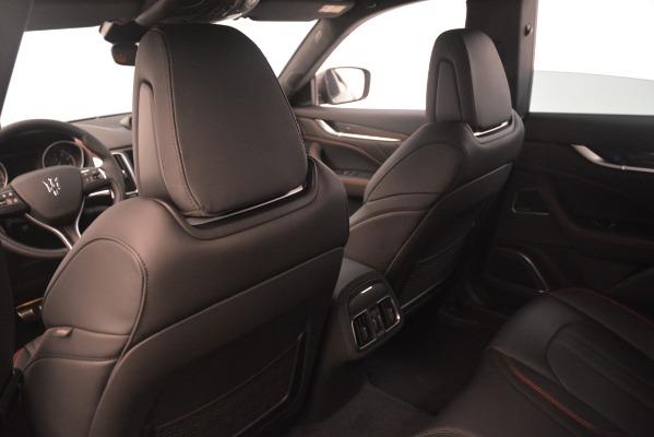 New 2019 Maserati Levante SQ4 GranSport Nerissimo for sale Sold at Alfa Romeo of Westport in Westport CT 06880 18