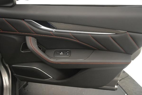 New 2019 Maserati Levante SQ4 GranSport Nerissimo for sale Sold at Alfa Romeo of Westport in Westport CT 06880 25