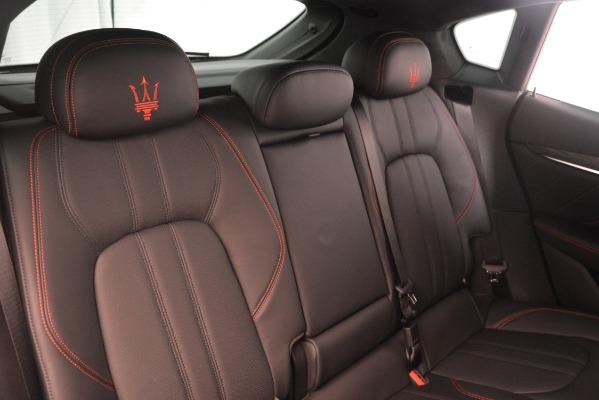 New 2019 Maserati Levante SQ4 GranSport Nerissimo for sale Sold at Alfa Romeo of Westport in Westport CT 06880 26