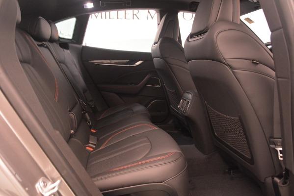 New 2019 Maserati Levante SQ4 GranSport Nerissimo for sale Sold at Alfa Romeo of Westport in Westport CT 06880 27