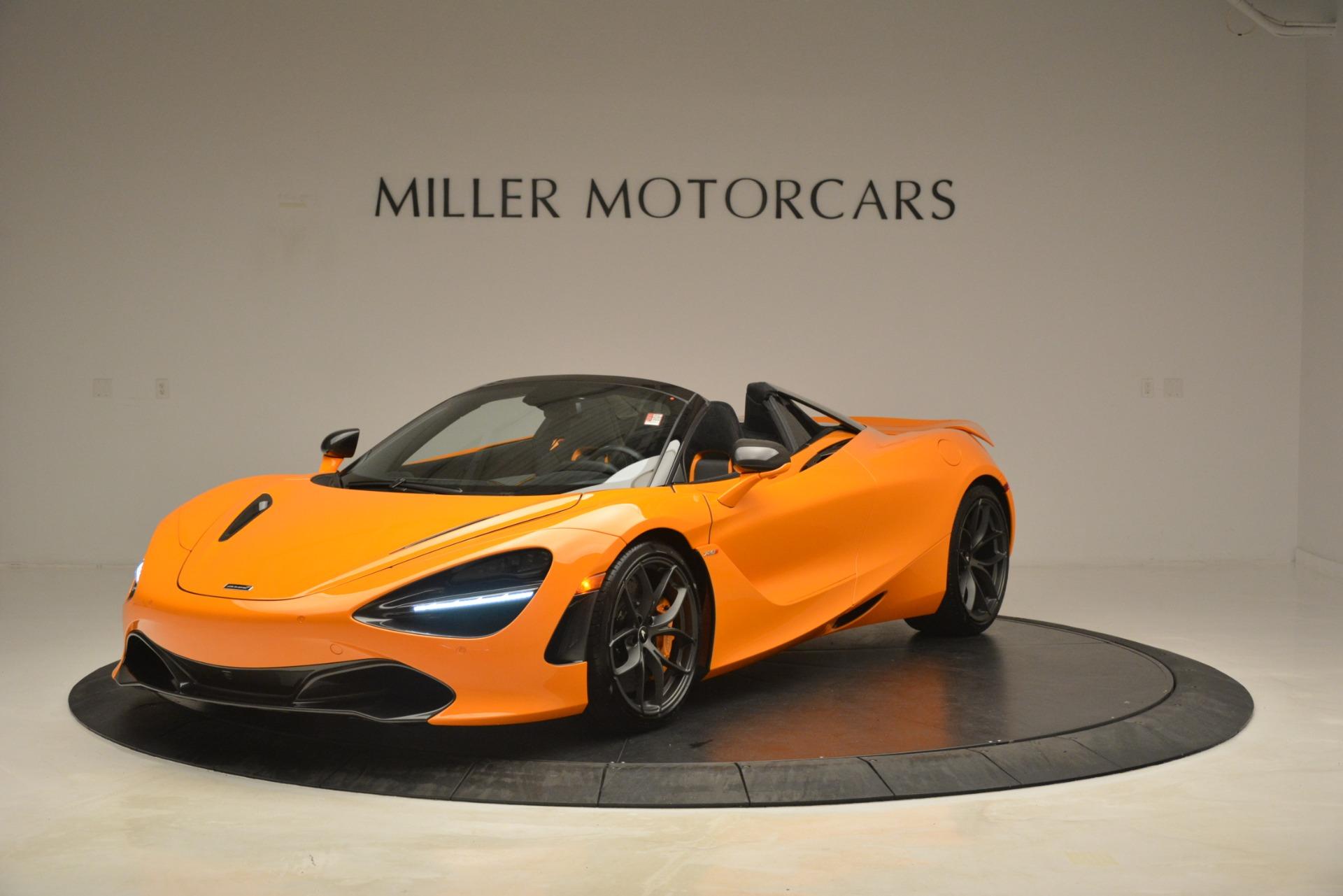 New 2020 McLaren 720S Spider for sale Sold at Alfa Romeo of Westport in Westport CT 06880 1