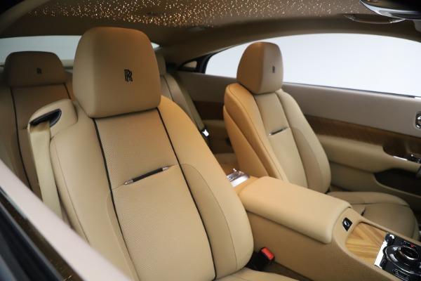 Used 2015 Rolls-Royce Wraith for sale Sold at Alfa Romeo of Westport in Westport CT 06880 18