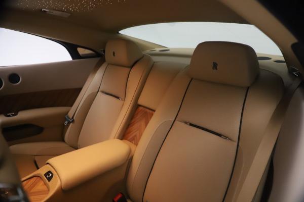 Used 2015 Rolls-Royce Wraith for sale Sold at Alfa Romeo of Westport in Westport CT 06880 22