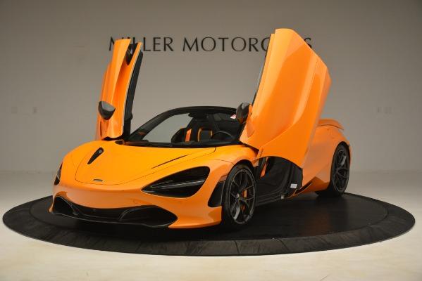 New 2020 McLaren 720S SPIDER Convertible for sale $407,450 at Alfa Romeo of Westport in Westport CT 06880 10