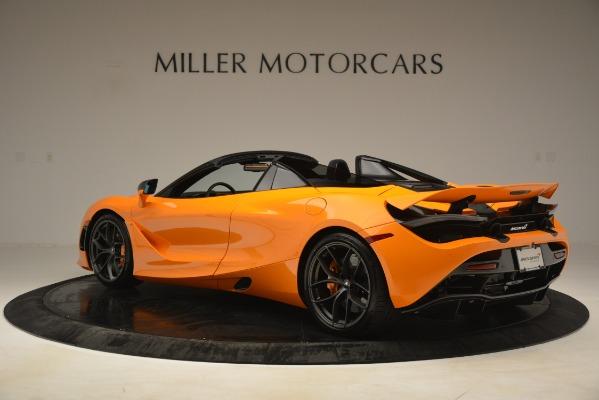 New 2020 McLaren 720S SPIDER Convertible for sale $407,450 at Alfa Romeo of Westport in Westport CT 06880 2
