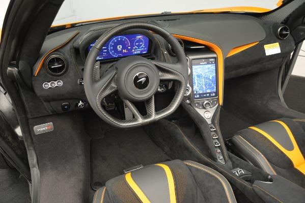 New 2020 McLaren 720S SPIDER Convertible for sale $407,450 at Alfa Romeo of Westport in Westport CT 06880 23