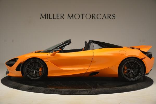 New 2020 McLaren 720S SPIDER Convertible for sale $407,450 at Alfa Romeo of Westport in Westport CT 06880 3