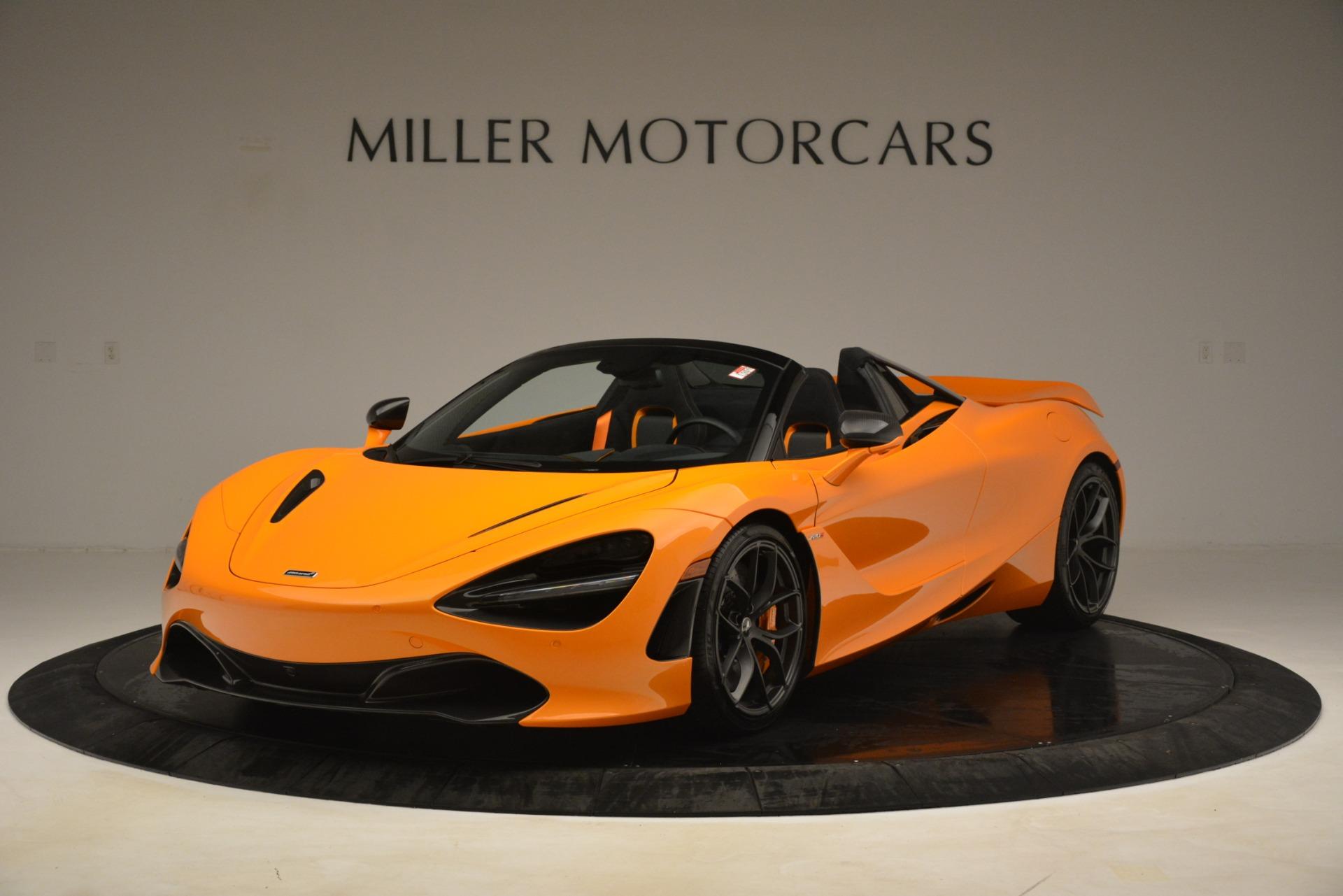 New 2020 McLaren 720S SPIDER Convertible for sale $407,450 at Alfa Romeo of Westport in Westport CT 06880 1