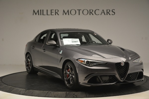 New 2019 Alfa Romeo Giulia Quadrifoglio for sale Sold at Alfa Romeo of Westport in Westport CT 06880 11