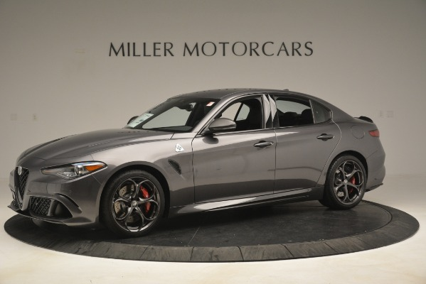 New 2019 Alfa Romeo Giulia Quadrifoglio for sale Sold at Alfa Romeo of Westport in Westport CT 06880 2