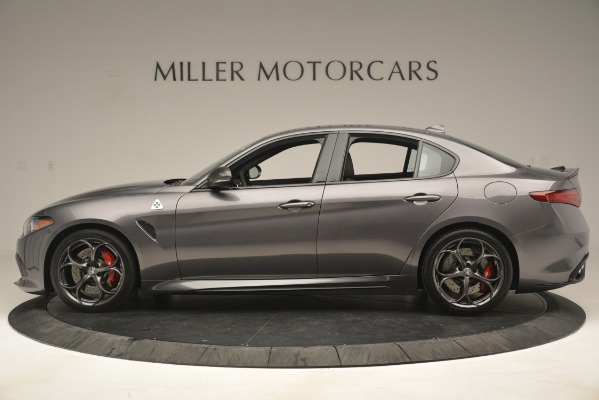 New 2019 Alfa Romeo Giulia Quadrifoglio for sale Sold at Alfa Romeo of Westport in Westport CT 06880 3