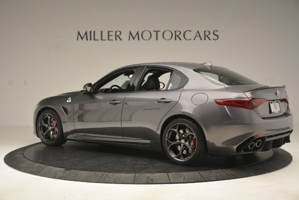 New 2019 Alfa Romeo Giulia Quadrifoglio for sale Sold at Alfa Romeo of Westport in Westport CT 06880 4