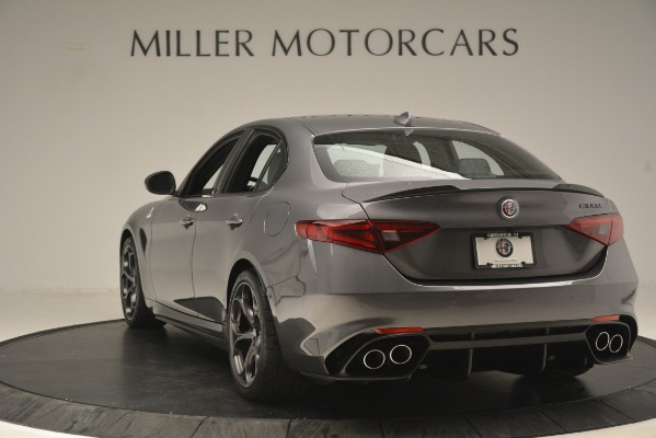 New 2019 Alfa Romeo Giulia Quadrifoglio for sale Sold at Alfa Romeo of Westport in Westport CT 06880 5