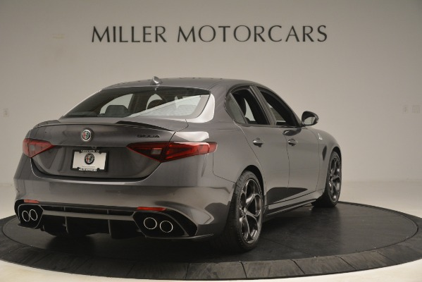 New 2019 Alfa Romeo Giulia Quadrifoglio for sale Sold at Alfa Romeo of Westport in Westport CT 06880 7