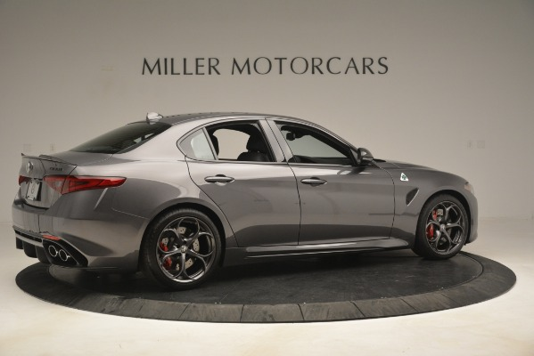 New 2019 Alfa Romeo Giulia Quadrifoglio for sale Sold at Alfa Romeo of Westport in Westport CT 06880 8