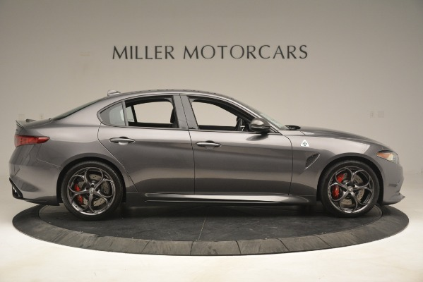 New 2019 Alfa Romeo Giulia Quadrifoglio for sale Sold at Alfa Romeo of Westport in Westport CT 06880 9