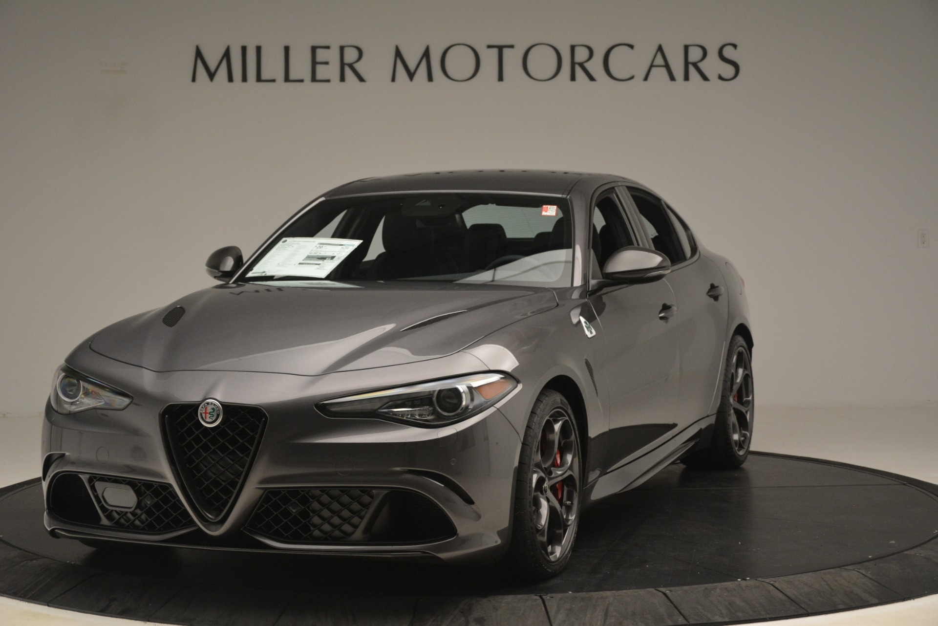 New 2019 Alfa Romeo Giulia Quadrifoglio for sale Sold at Alfa Romeo of Westport in Westport CT 06880 1