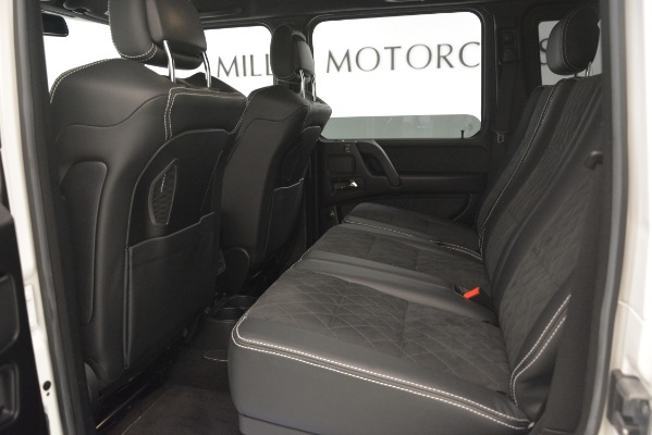 Used 2018 Mercedes-Benz G-Class G 550 4x4 Squared for sale Sold at Alfa Romeo of Westport in Westport CT 06880 17