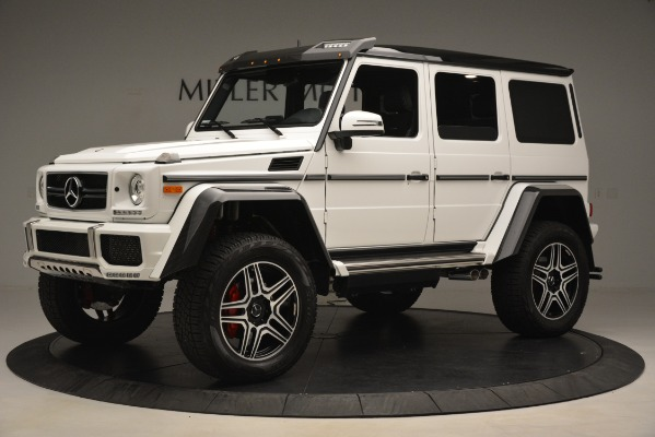 Used 2018 Mercedes-Benz G-Class G 550 4x4 Squared for sale Sold at Alfa Romeo of Westport in Westport CT 06880 2