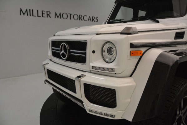 Used 2018 Mercedes-Benz G-Class G 550 4x4 Squared for sale Sold at Alfa Romeo of Westport in Westport CT 06880 23