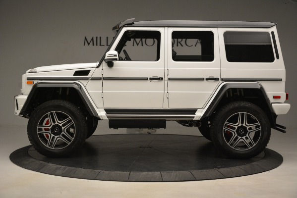 Used 2018 Mercedes-Benz G-Class G 550 4x4 Squared for sale Sold at Alfa Romeo of Westport in Westport CT 06880 3
