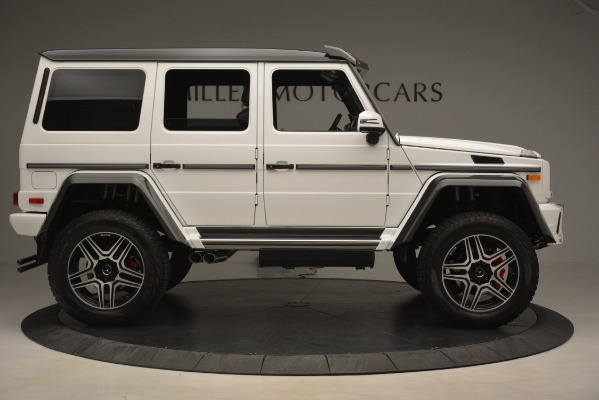 Used 2018 Mercedes-Benz G-Class G 550 4x4 Squared for sale Sold at Alfa Romeo of Westport in Westport CT 06880 9