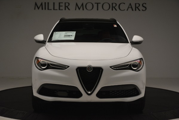 New 2019 Alfa Romeo Stelvio Ti Sport Q4 for sale Sold at Alfa Romeo of Westport in Westport CT 06880 12