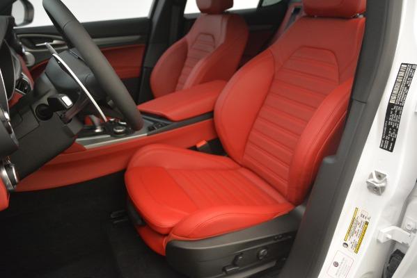 New 2019 Alfa Romeo Stelvio Ti Sport Q4 for sale Sold at Alfa Romeo of Westport in Westport CT 06880 15