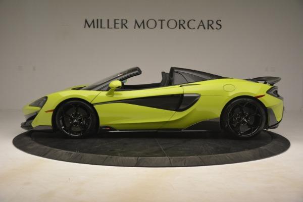 New 2020 McLaren 600LT Spider for sale $281,570 at Alfa Romeo of Westport in Westport CT 06880 10