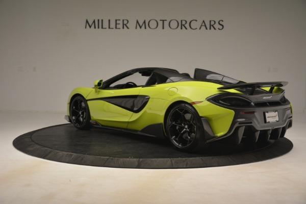 New 2020 McLaren 600LT SPIDER Convertible for sale $281,570 at Alfa Romeo of Westport in Westport CT 06880 11
