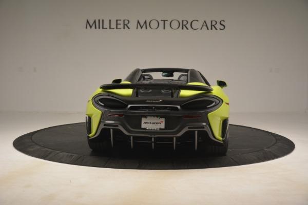 New 2020 McLaren 600LT Spider for sale $281,570 at Alfa Romeo of Westport in Westport CT 06880 12