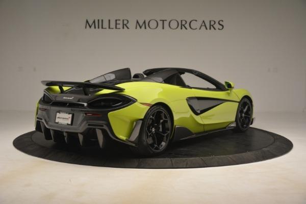New 2020 McLaren 600LT Spider for sale $281,570 at Alfa Romeo of Westport in Westport CT 06880 13