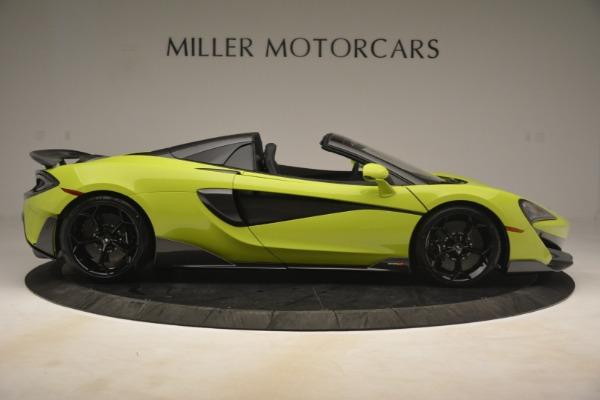 New 2020 McLaren 600LT SPIDER Convertible for sale $281,570 at Alfa Romeo of Westport in Westport CT 06880 14