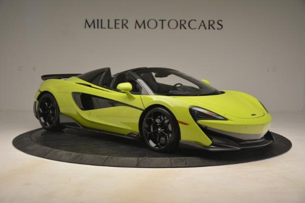 New 2020 McLaren 600LT Spider for sale $281,570 at Alfa Romeo of Westport in Westport CT 06880 15