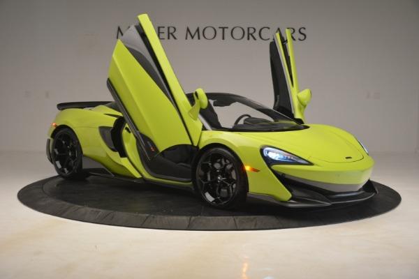 New 2020 McLaren 600LT SPIDER Convertible for sale $281,570 at Alfa Romeo of Westport in Westport CT 06880 16