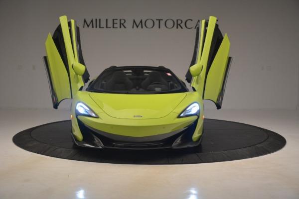 New 2020 McLaren 600LT SPIDER Convertible for sale $281,570 at Alfa Romeo of Westport in Westport CT 06880 17