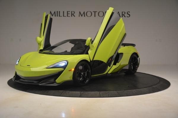 New 2020 McLaren 600LT SPIDER Convertible for sale $281,570 at Alfa Romeo of Westport in Westport CT 06880 18