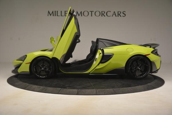 New 2020 McLaren 600LT SPIDER Convertible for sale $281,570 at Alfa Romeo of Westport in Westport CT 06880 19