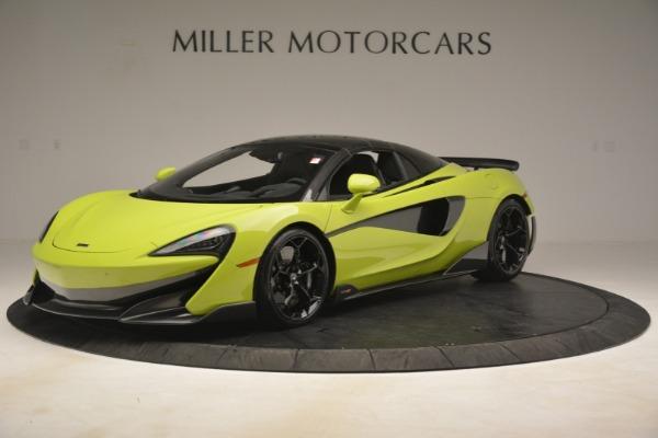 New 2020 McLaren 600LT SPIDER Convertible for sale $281,570 at Alfa Romeo of Westport in Westport CT 06880 2