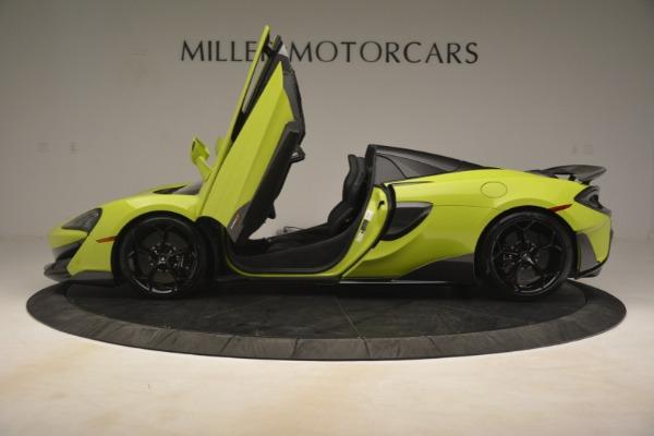 New 2020 McLaren 600LT Spider for sale $281,570 at Alfa Romeo of Westport in Westport CT 06880 20
