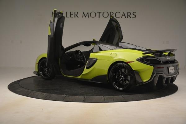 New 2020 McLaren 600LT SPIDER Convertible for sale $281,570 at Alfa Romeo of Westport in Westport CT 06880 21